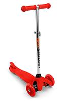 Самокат трёхколёсный Scooter Mini BB466-112 красный***