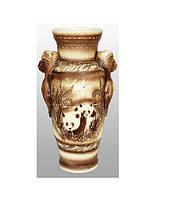 Ваза напольная керамическая Дора жемчуг (7004-0).