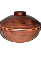 Сковорода с крышкой 8х30 см (объем 3 л)
