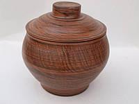 Горшок для запекания духовой 0,65 л (глиняний посуд)