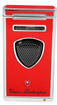 Яркая газовая зажигалка Lamborghini TTR005001 красный
