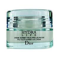 TESTER Dior увлажняющий крем-сорбэ для контура глаз Hydra Life Pro-Youth Sorbet Eye Cream 15ml