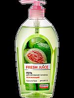 """Гель для интимной гигиены Fresh Juice """"Guava and tiare"""" 500мл"""