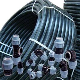 ПНД трубы (ПЭ-100) и компрессионные фитинги