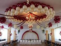 Идеи оформления торгового центра: латексные воздушные шары