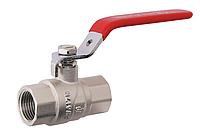 Шаровый кран усиленный SD Forte 1-1/2 ручка, гайка-гайка, вода (1009A) (Sandi Forte - Китай)
