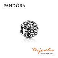 Pandora Шарм С АЖУРНЫМ УЗОРОМ 790458 серебро 925 Пандора  оригинал