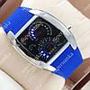 Неординарные наручные часы Спидометр Led Street Racer Blue 2702