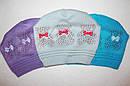 Детские шапки красиво,модно,стильно 4-8 лет, фото 2