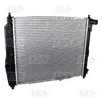 Радиатор охлаждения Chevrolet Aveo 1,5 (без.кон.) LSA