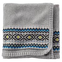 Вязаное одеяло для  новорожденного Carters