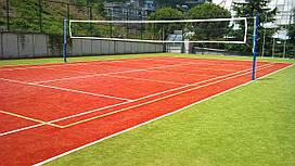 Строительство и проектрирование теннисных кортов под ключ!