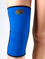 Бандаж неопреновый на колено наколенник со спиральными ребрами жесткости К-1У