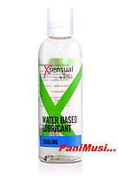 Лубрикант смазка для секса  XSensual Lubricant Cooling 100мл. Натуральный