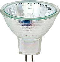 Лампа галогенова MR-16 12V35W С/C супер біла (super white blue)