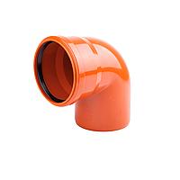 Колено канализационное KG Д 200/200 (30) (223210) (наружная) (Ostendorf KG - Германия)