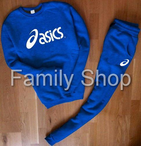 85b687164b36 Спортивный костюм Asics Асикс синий - Интернет Магазин