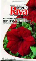 Семена Петуния крупноцветковая ВИРТУОЗ КРАСНАЯ 10 семян