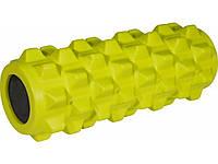 Роллер массажный Grid roller, желтый