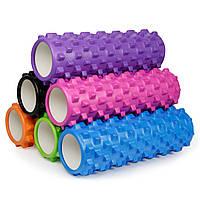 Роллер массажный Grid roller, 45 см