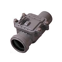 Обратный клапан Д  50мм (1рез) (Интерпласт - Украина)