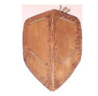 Деревянный рыцарский щит 50см