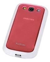 Чехол Yoobao 2 in 1 для Samsung i9300 Galaxy S III, red