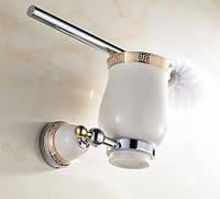 Ершик для унитаза Toilet Brush Pattern Chrome