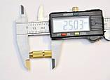 Цанговый патрон вал 3.2мм сверло 1,5 - 2,0 цанга электро дрель мини дрель Dremel, фото 5