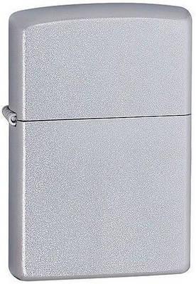 Привлекательная бензиновая зажигалка Zippo 205 серебристая