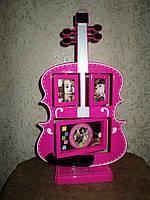 Фоторамка-часы Гитара - Оригинальный и необычный подарок
