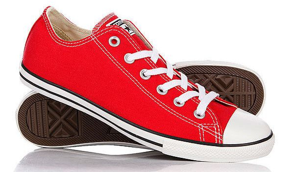 Кеды Converse All Star женские красные