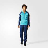 Женский спортивный костюм adidas new young tracksuit (Артикул: AJ5969), фото 1