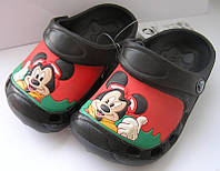 Детские кроксы «Микки Маус»
