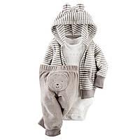 Детский махровый комплект для мальчика 6 месяцев