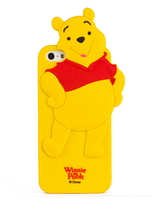 Силиконовый чехол Винни Пух для Iphone 5/5S