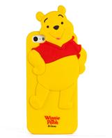Силиконовый чехол Винни Пух для Iphone 5/5S, фото 1