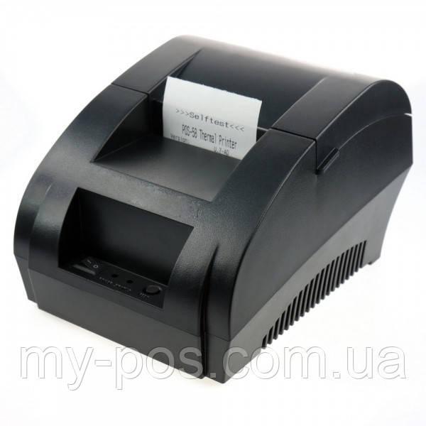 Термо принтер чеков Xprinter XP-58IIH (POS-5890) USB Цена актуальна!