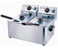 Фритюрница HDF- 4+4 Inoxtech