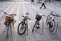 Подставка для велосипеда напольная