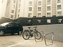 Стальная велопарковка