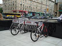 Вертикальная стойка для велосипедов