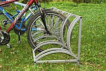 Велопарковка нержавеющая сталь