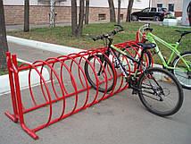 Велопарковки необычные