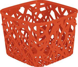 Корзинка Neo оранжевая, Curver 210362