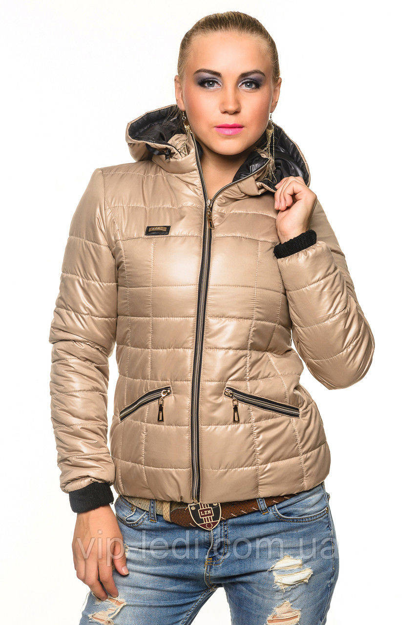 da0d8f9d5a4a Демисезонная женская куртка Анжелика - Интернет-магазин Vip-Ledi.com.ua в