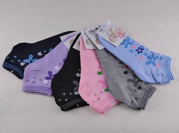 Женские носки заниженные разных цветов (E066) | 12 пар, фото 2