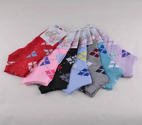 Женские носки заниженные разных цветов (E057) | 12 пар, фото 2