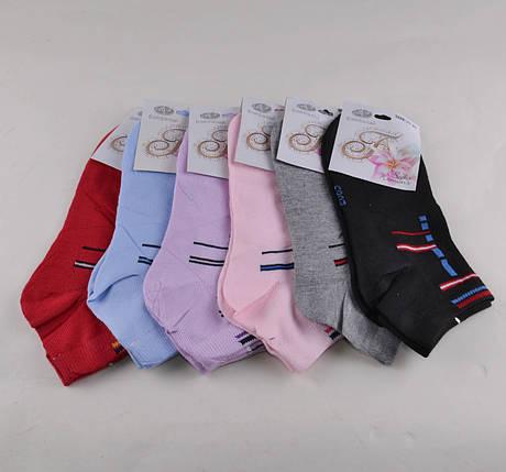 Женские носки заниженные разных цветов (E069) | 12 пар, фото 2
