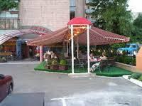 Маркиза для летного кафе